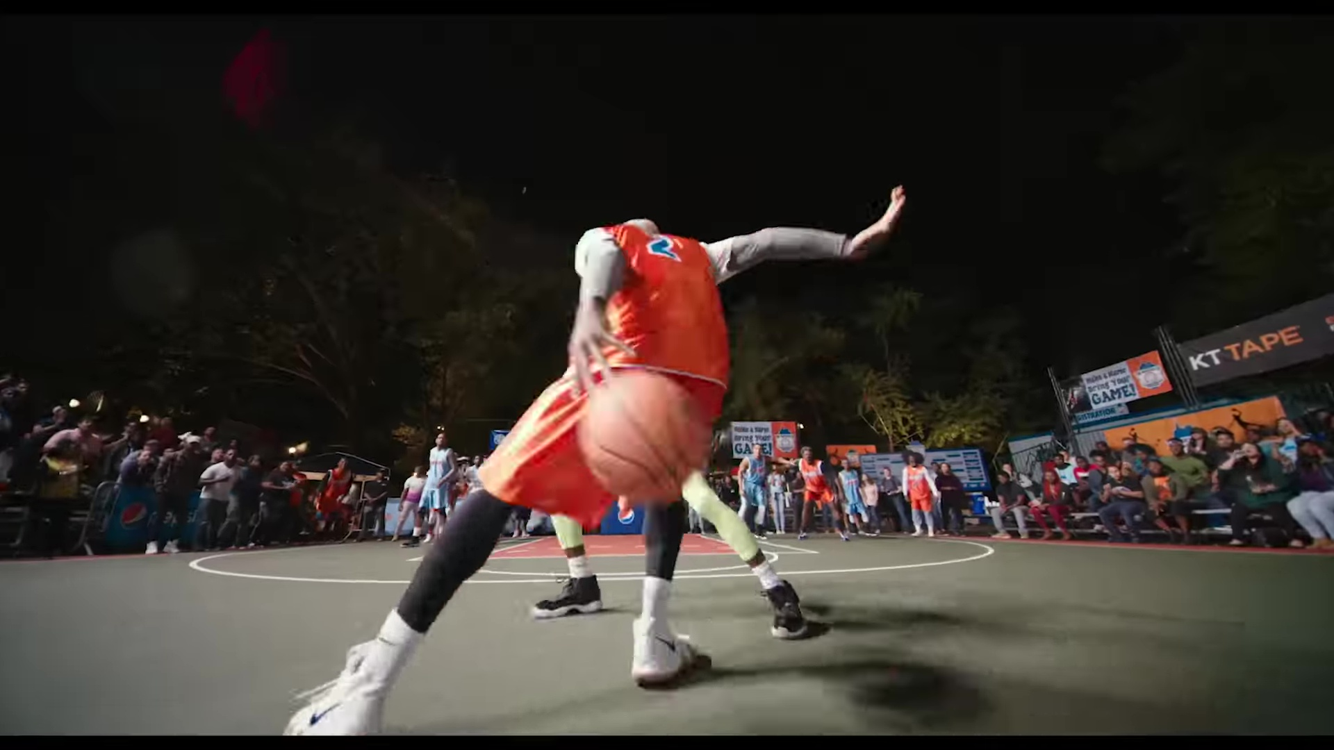 Nike White Sneakers And Pepsi Billboards In Uncle Drew 2018 Movie Product Placement