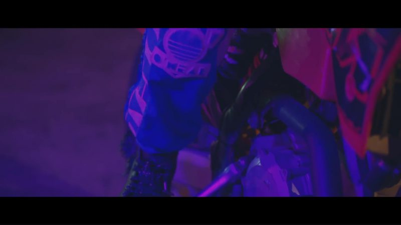 O'Neal Motocross Gear Worn by Model (Lulo) in Spotlight by Marshmello x Lil Peep (2018) - Official Music Video Product Placement