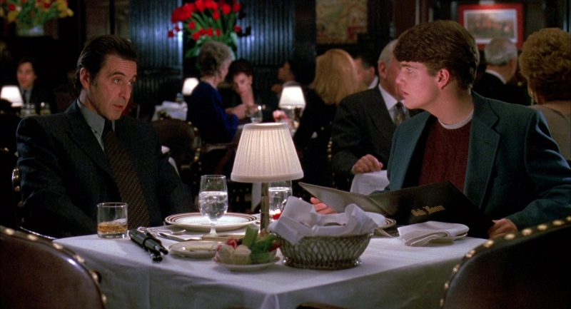 Oak Room Restaurant (Plaza Hotel) in Scent of a Woman (1992) Movie Product Placement