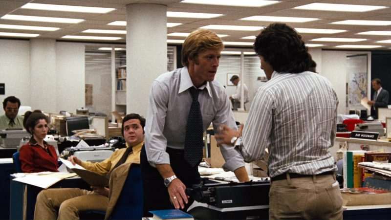 Olympia Typewriter Used by Robert Redford in All the President's Men (1976) Movie Product Placement