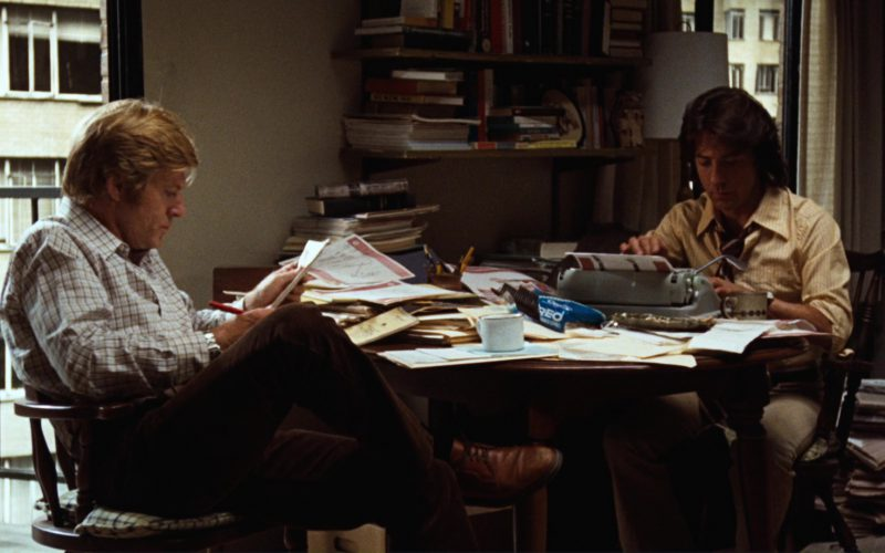 Oreo Cookies (Robert Redford and Dustin Hoffman) in All the President's Men (1)