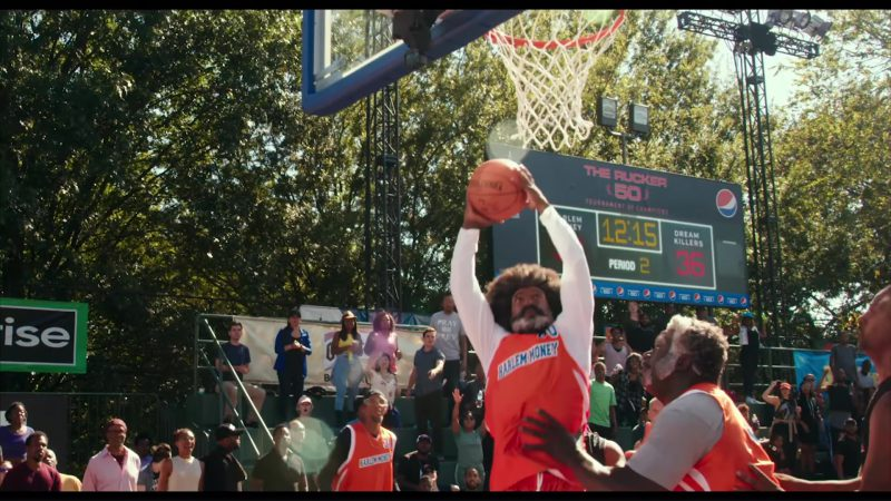 Pepsi Scoreboards in Uncle Drew (2018) Movie Product Placement