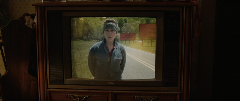 RCA TV in Three Billboards Outside Ebbing, Missouri (2017) Movie Product Placement