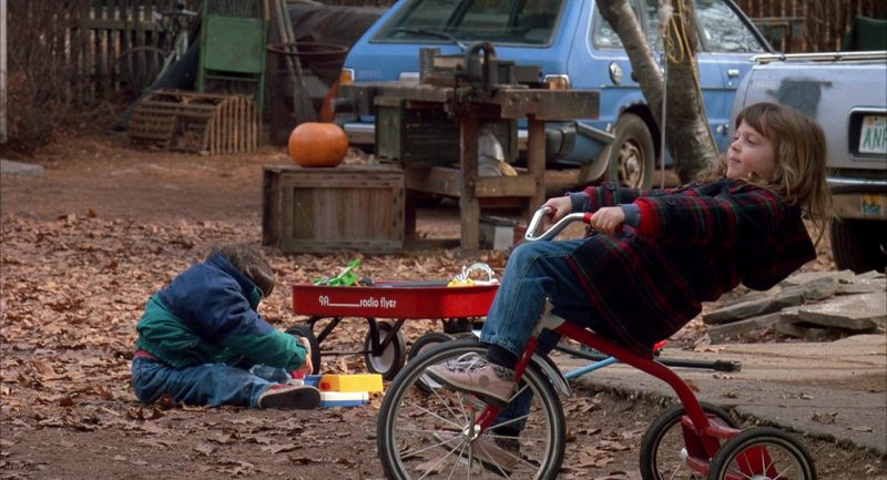 Radio Flyer Classic Red Wagon in Scent of a Woman (1992) Movie Product Placement
