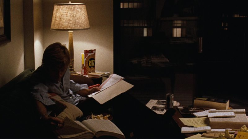 Ritz Crackers and Robert Redford in All the President's Men (1976) Movie Product Placement
