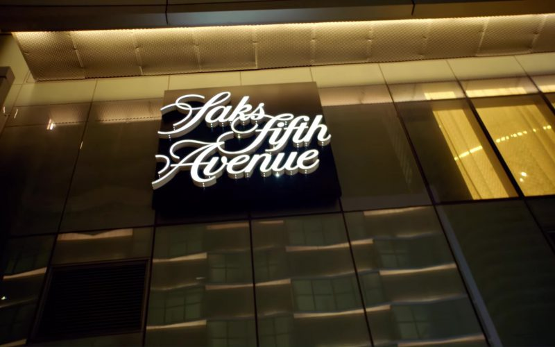 Saks Fifth Avenue Store in God's Plan by Drake