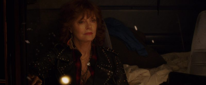 Scotch & Soda / Maison Scotch Studded Biker Jacket Worn by Susan Sarandon in A Bad Moms Christmas (2017) Movie Product Placement