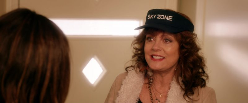 Sky Zone Cap Worn by Susan Sarandon in A Bad Moms Christmas (2017) - Movie Product Placement