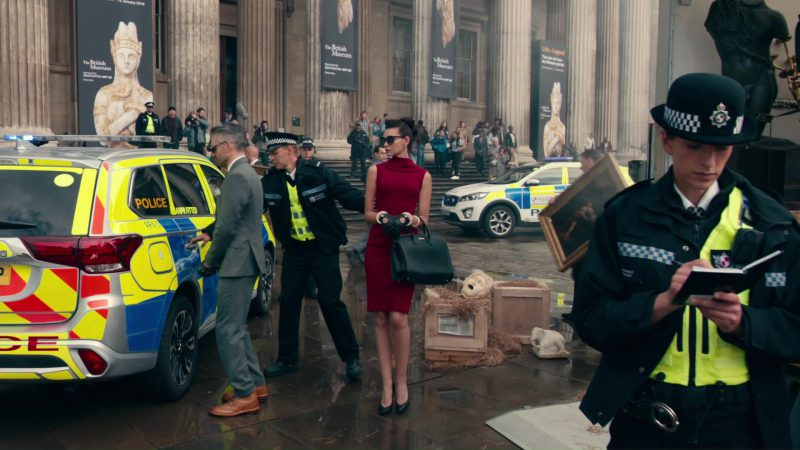 The British Museum in Justice League (2017) Movie Product Placement