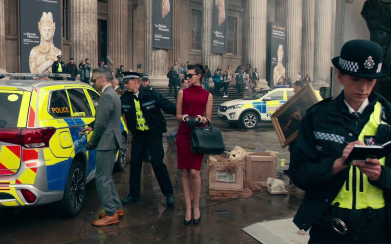 The British Museum in Justice League