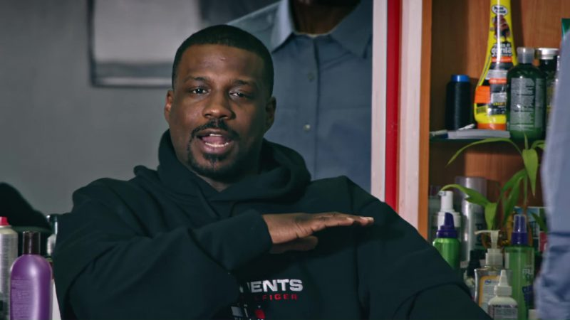 Tommy Hilfiger Hoodie Worn by Jay Rock in King's Dead by Jay Rock, Kendrick Lamar, Future, James Blake (2018) Official Music Video Product Placement