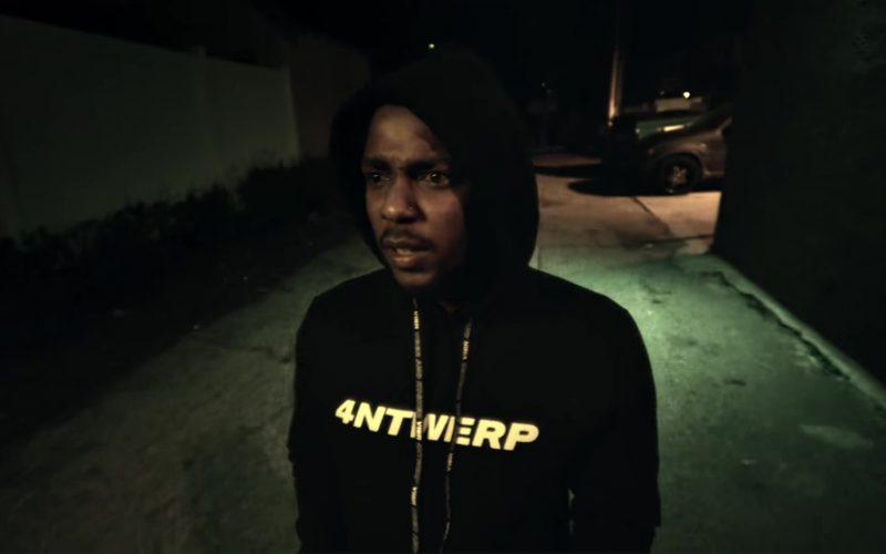 Vier Antwerp Hoodie Worn by Kendrick Lamar in King's Dead (1)