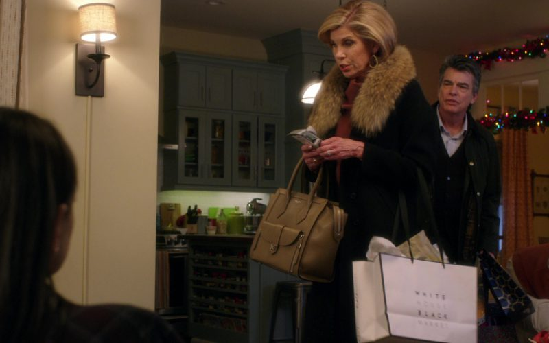 WHBM (White House Black Market) Paper Bag Used by Christine Baranski in A Bad Moms Christmas (2)