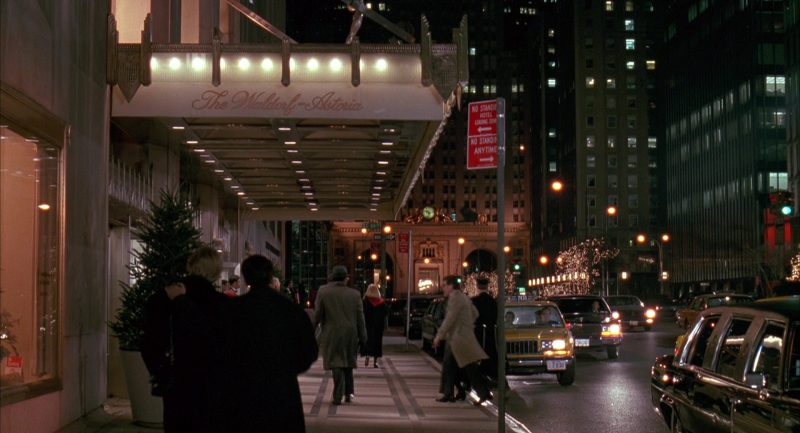 Waldorf Astoria New York Hotel in Scent of a Woman (1992) Movie Product Placement