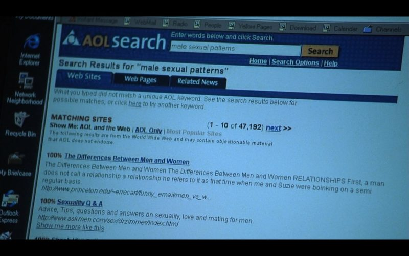 AOL Search in Someone Like You…