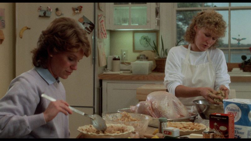 A&P and Pillsbury in The Big Chill (1983) Movie Product Placement