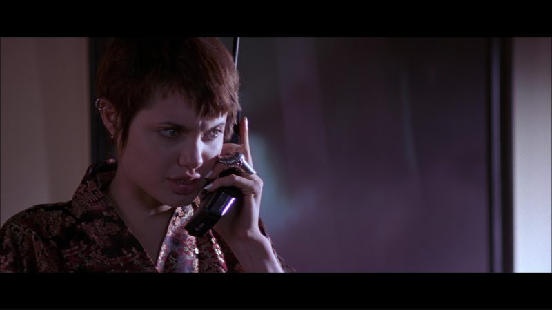 AT&T Phone Used by Angelina Jolie in Hackers (1995) Movie Product Placement