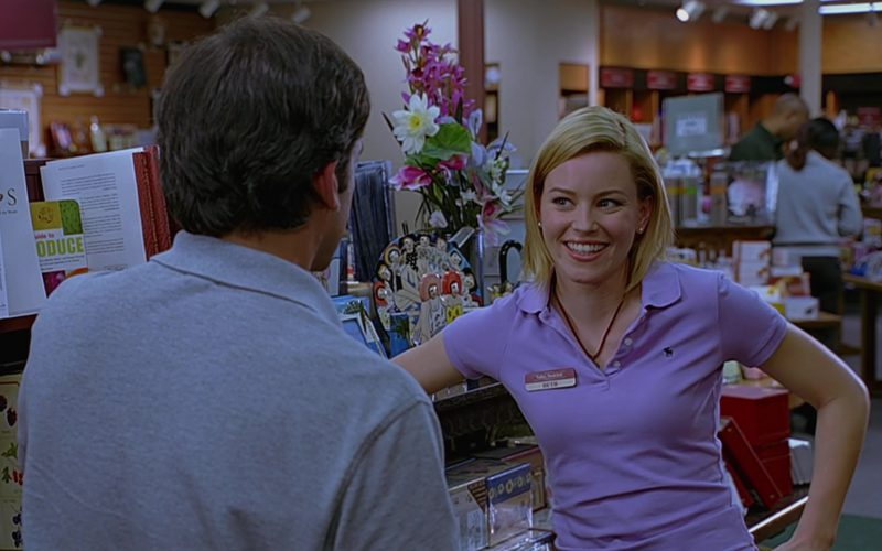 Abercrombie & Fitch Polo Shirt Worn by Elizabeth Banks in The 40-Year-Old Virgin (3)
