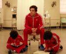 Adidas Red Tracksuits Worn by Ben Stiller, Grant Rosenmeyer ...