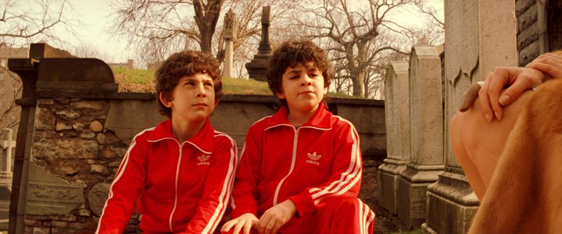 Adidas Tracksuits And Puma Shoes Worn by Grant Rosenmeyer (Ari Tenenbaum) and Jonah Meyerson (Uzi Tenenbaum) in The Royal Tenenbaums (2001) Movie Product Placement