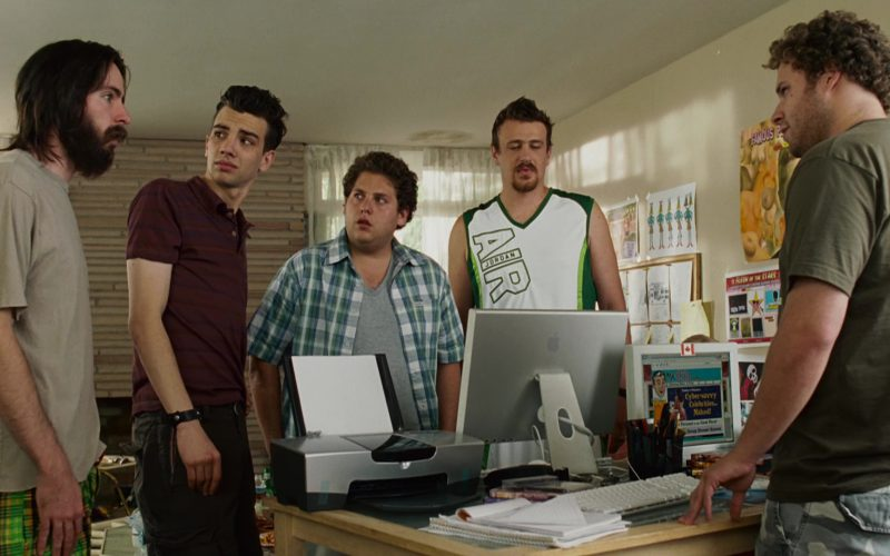 Air Jordan T-Shirt Worn by by Jason Segel and Apple Monitor in Knocked Up (1)