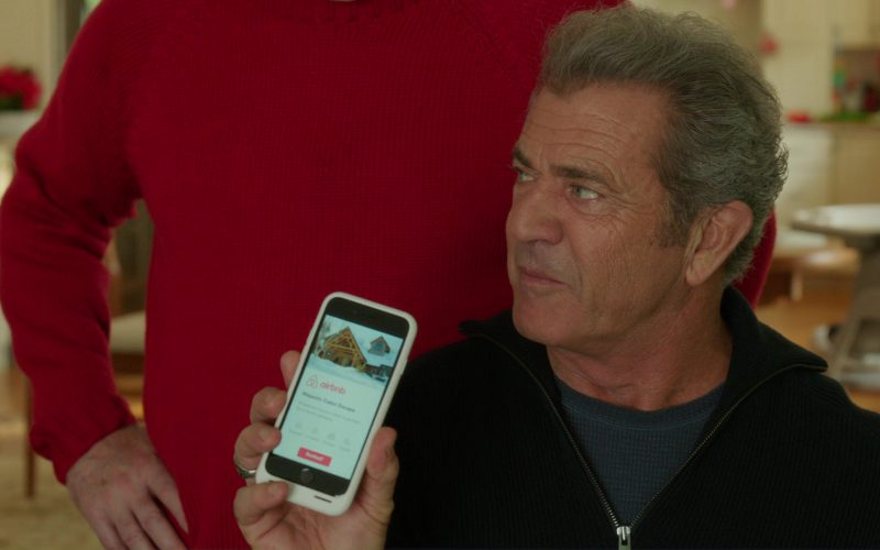 Airbnb App Used by Mel Gibson in Daddy's Home 2