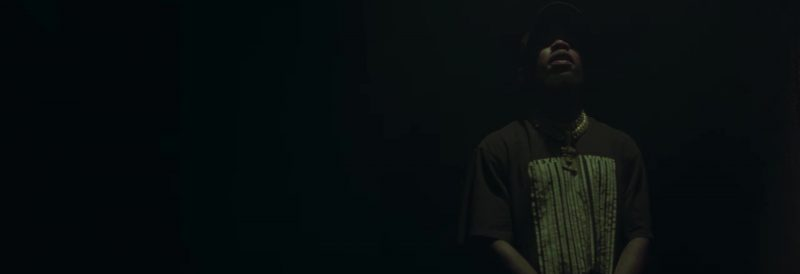 Alexander Wang T-Shirt Worn by Tory Lanez in Real Thing ft. Future (2018) - Official Music Video Product Placement