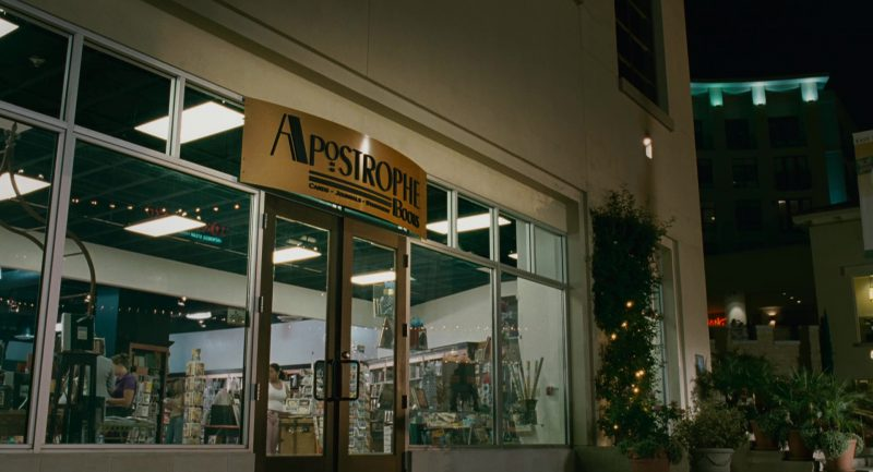 Apostrophe Books Store in Knocked Up (2007) Movie Product Placement