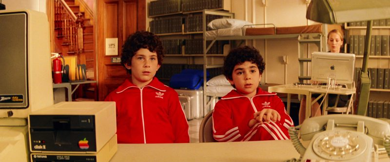Apple Computers and Adidas Tracksuits in The Royal Tenenbaums (2001) Movie Product Placement