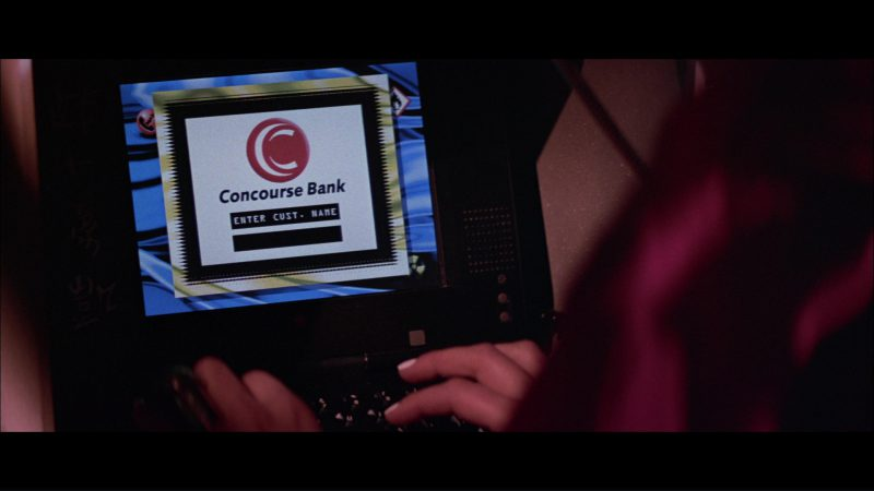 Apple Macintosh PowerBook Duo Laptop Used by Angelina Jolie in Hackers (1995) Movie Product Placement