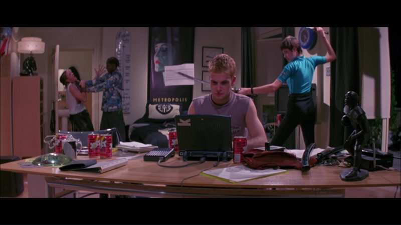 Apple Macintosh PowerBook Duo Notebook Used by Jonny Lee Miller and Jolt Cola in Hackers (1995) - Movie Product Placement