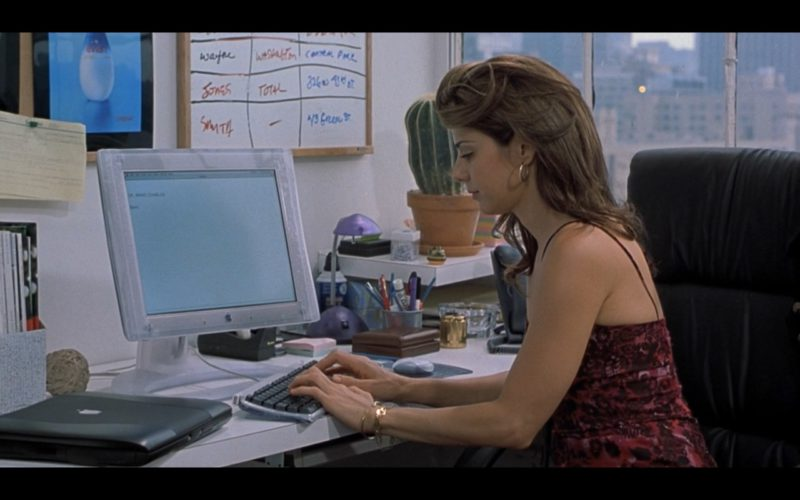 Apple Monitor and PowerBook Laptop in Someone Like You… (3)