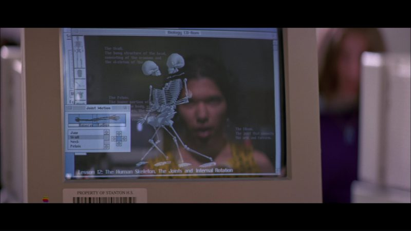 Apple Monitor in Hackers (1995) Movie Product Placement
