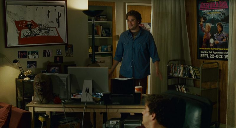 Apple Monitors (Thunderbolt Displays) in Knocked Up (2007) - Movie Product Placement