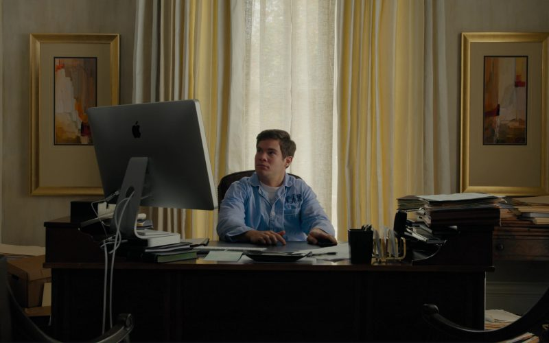 Apple Thunderbolt Display and Mac Mini Computer Used by Adam DeVine in When We First Met (1)