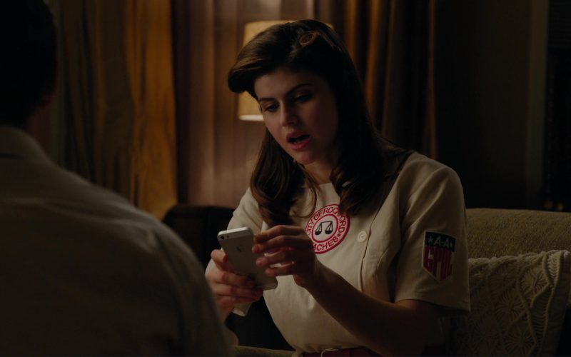 Apple iPhone Used by Alexandra Daddario in When We First Met (1)