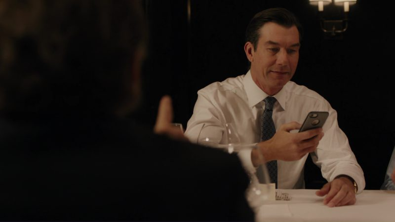 Apple iPhone Used by Jerry O'Connell (Steven Birch) in Billions: Tie Goes to the Runner (2018) TV Show