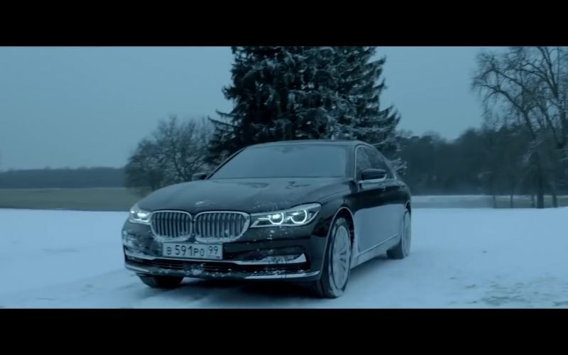 BMW 7 Series Car in Red Sparrow (1)