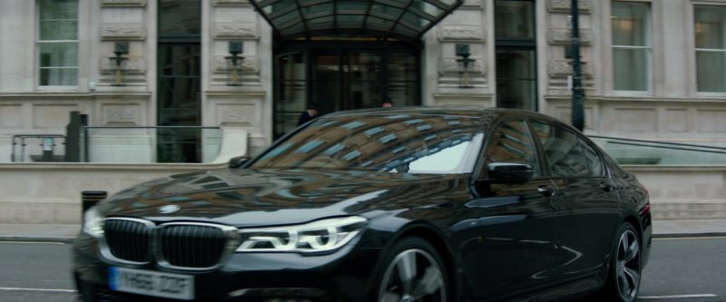 BMW 7 Series Car in Red Sparrow (2018) Movie Product Placement