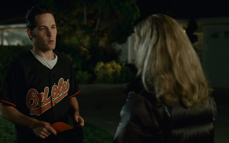 Baltimore Orioles T-Shirt and Cap Worn by Paul Rudd in Knocked Up