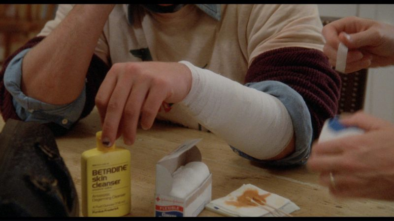 Betadine Skin Cleanser in The Big Chill (1983) Movie Product Placement