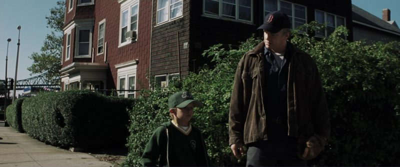 Boston Red Sox Baseball Team Blue Cap Worn by Tim Robbins in Mystic River (2003) Movie Product Placement