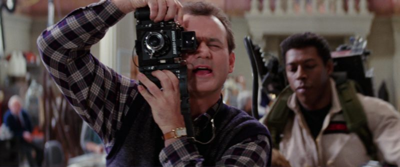 """Photo Camera """"Brooks Veriwide"""" Used by Bill Murray in Ghostbusters 2 (1989) Movie Product Placement"""