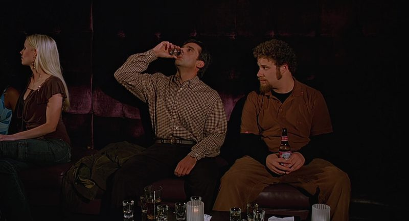 Budweiser Beer and Seth Rogen in The 40-Year-Old Virgin (2005) - Movie Product Placement