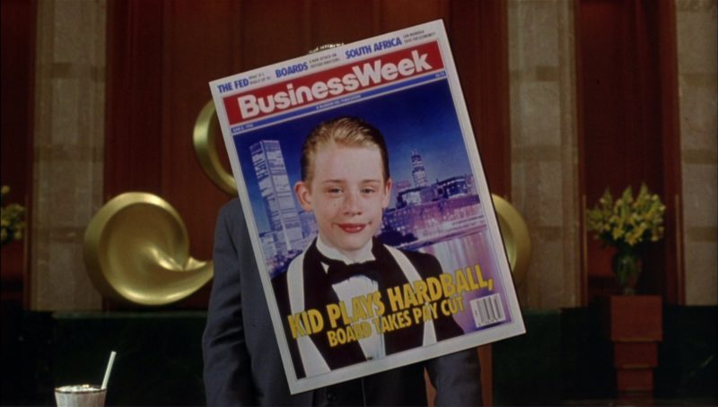 Businessweek Magazine in Richie Rich (1994) Movie Product Placement