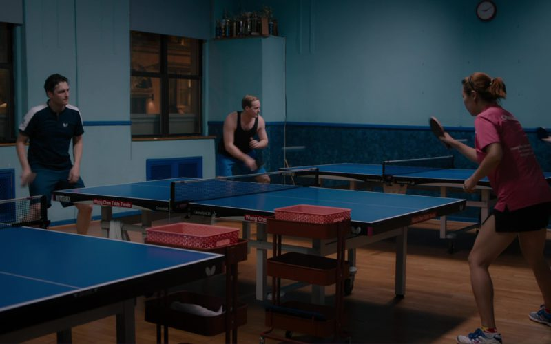 Butterfly Ping Pong Table Tennis Table Used by Toby Leonard Moore in Billions (1)