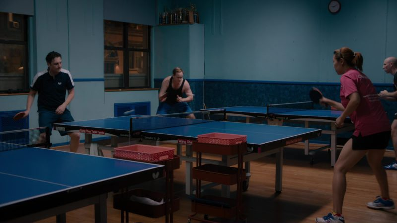 Butterfly Ping Pong / Table Tennis Table Used by Toby Leonard Moore in Billions: Tie Goes to the Runner (2018) - TV Show Product Placement