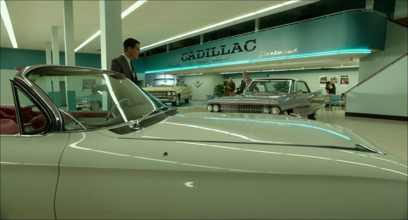Cadillac Car Dealership in The Shape of Water (2017) Movie Product Placement