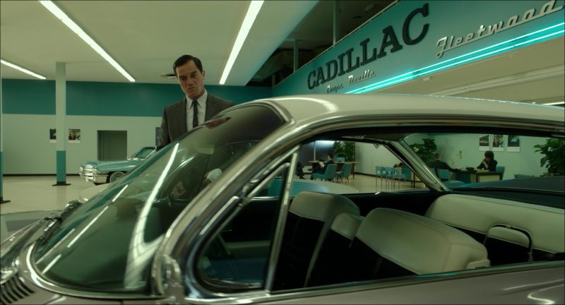 Cadillac Car Dealership in The Shape of Water (2017) - Movie Product Placement