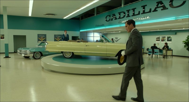 Cadillac Car Dealership in The Shape of Water (2017) Movie